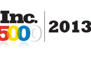 Inc. 5000 2013