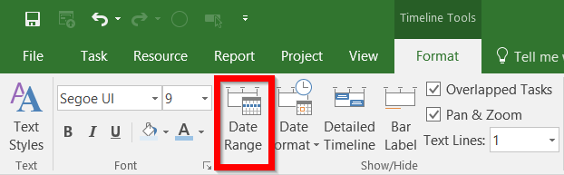 how to create a fiercely awesome timeline in microsoft project